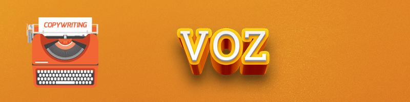 Checklist de COPY: Voz